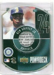 1999 Upper Deck PowerDeck #1 Ken Griffey Jr. front image