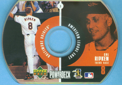 1999 Upper Deck PowerDeck #3 Cal Ripken