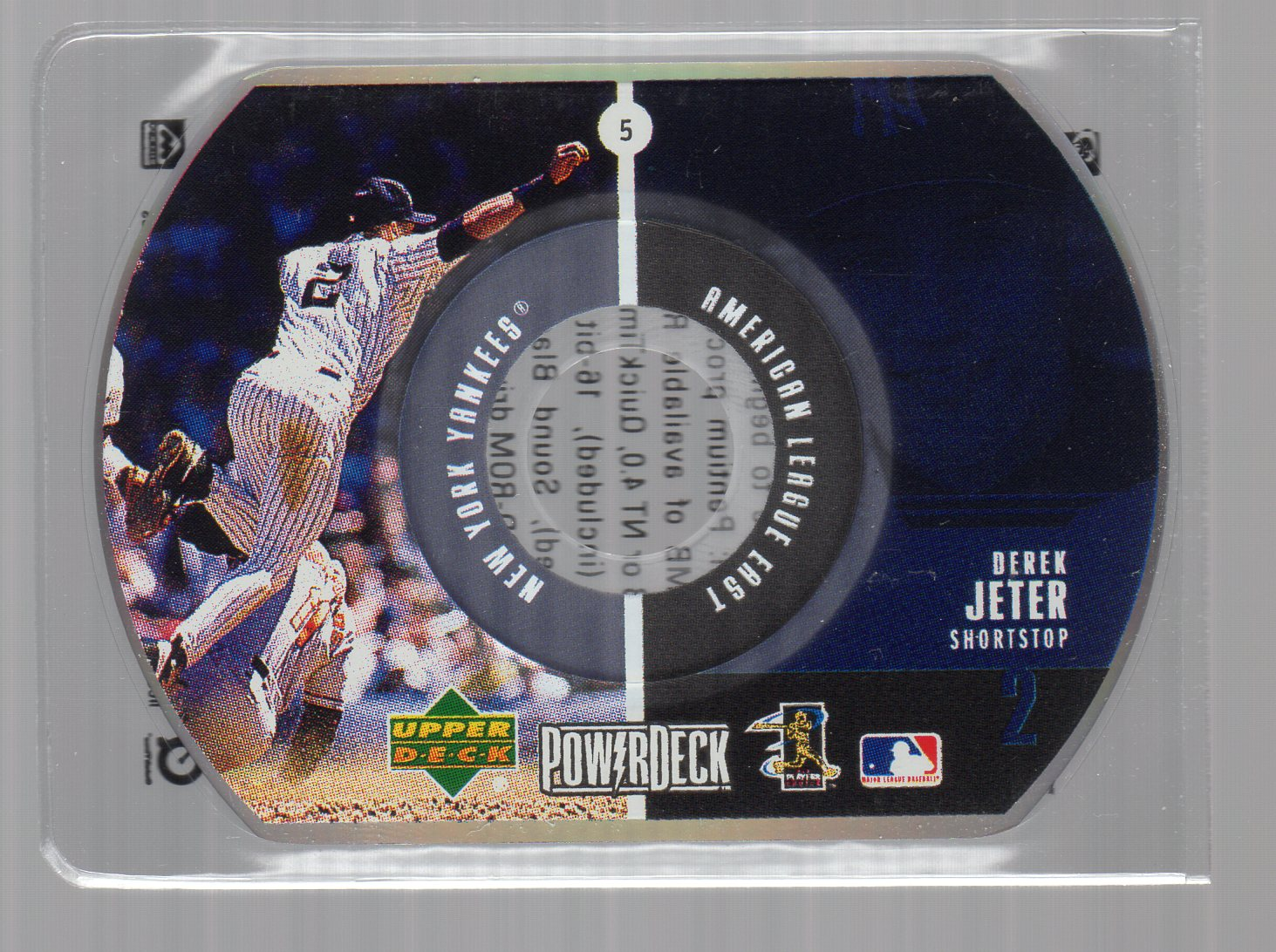 1999 Upper Deck PowerDeck #5 Derek Jeter