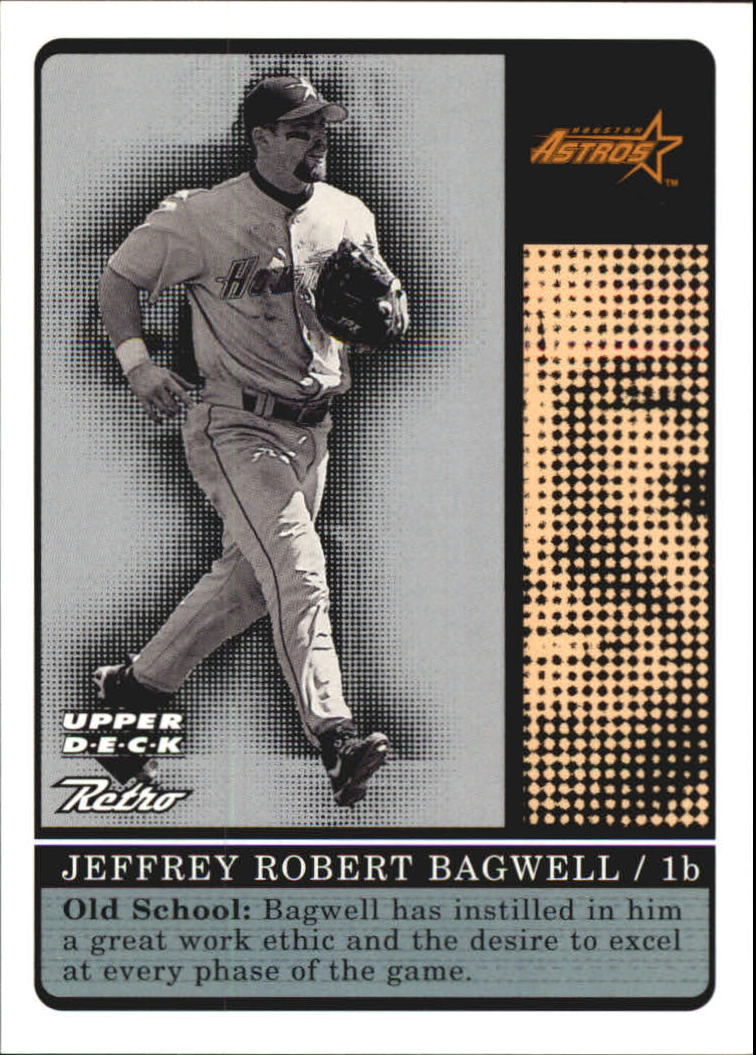 1999 Upper Deck Retro Old School/New School #S8 Jeff Bagwell