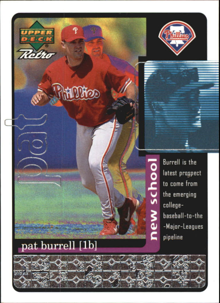 1999 Upper Deck Retro Old School/New School #S18 Pat Burrell