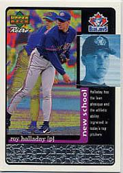 1999 Upper Deck Retro Old School/New School #S19 Roy Halladay