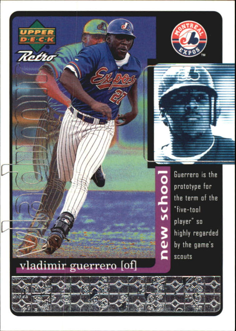 1999 Upper Deck Retro Old School/New School #S22 Vladimir Guerrero