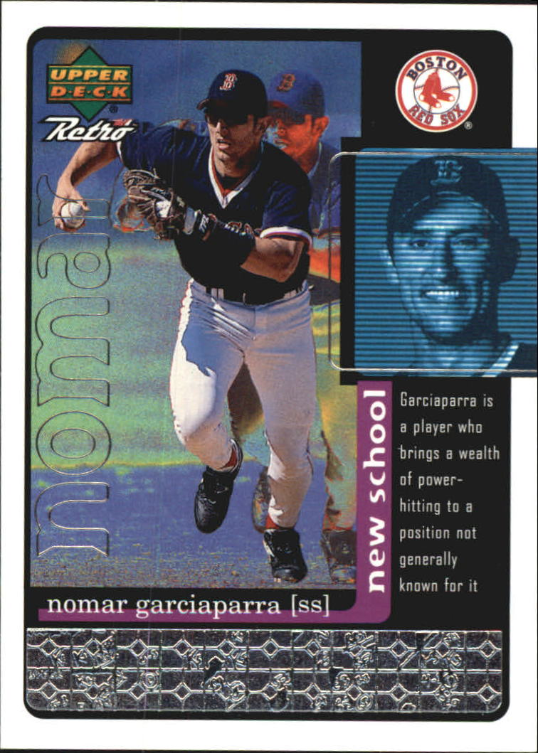1999 Upper Deck Retro Old School/New School #S26 Nomar Garciaparra