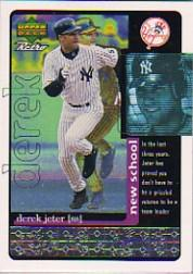 1999 Upper Deck Retro Old School/New School #S30 Derek Jeter
