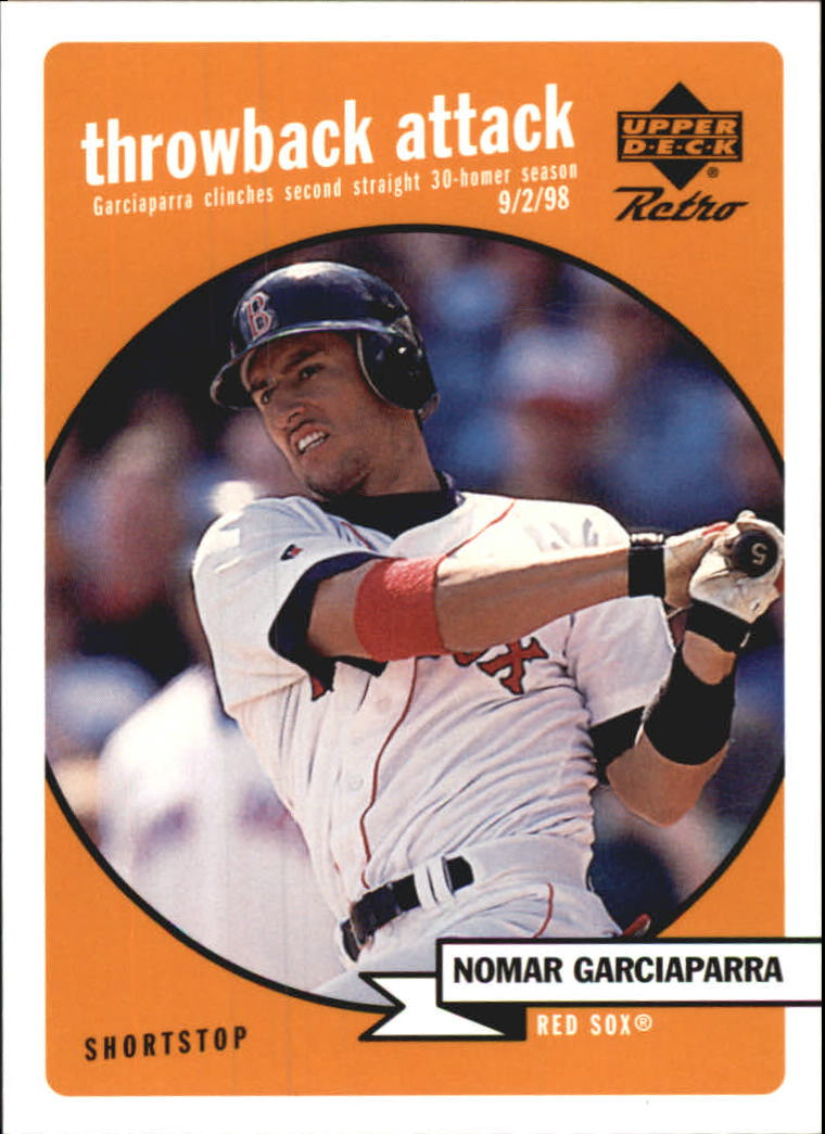 1999 Upper Deck Retro Throwback Attack #T13 Nomar Garciaparra