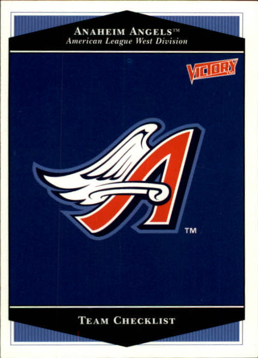 1999 Upper Deck Victory #1 Anaheim Angels TC
