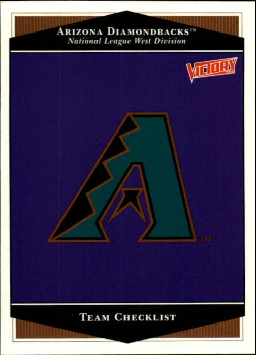 1999 Upper Deck Victory #15 Arizona Diamondbacks TC