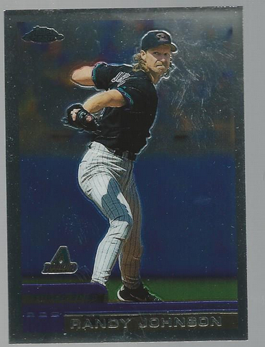 2000 Topps Chrome #51 Randy Johnson
