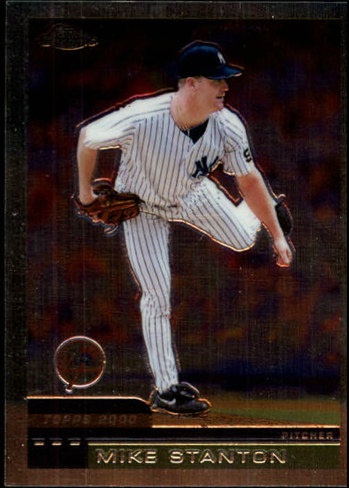2000 Topps Chrome #324 Mike Stanton