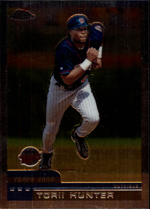 2000 Topps Chrome #431 Torii Hunter