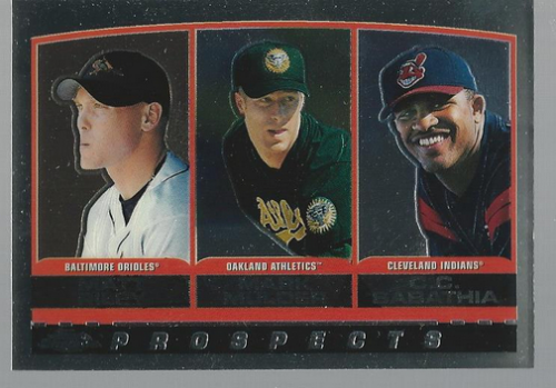2000 Topps Chrome #446 Riley/Sabathia/Mulder