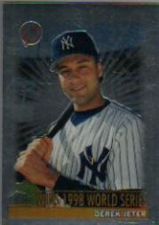 2000 Topps Chrome #478C D.Jeter MM Wins 1998 WS