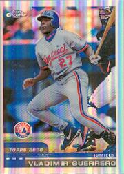 2000 Topps Chrome Refractors #181 Vladimir Guerrero