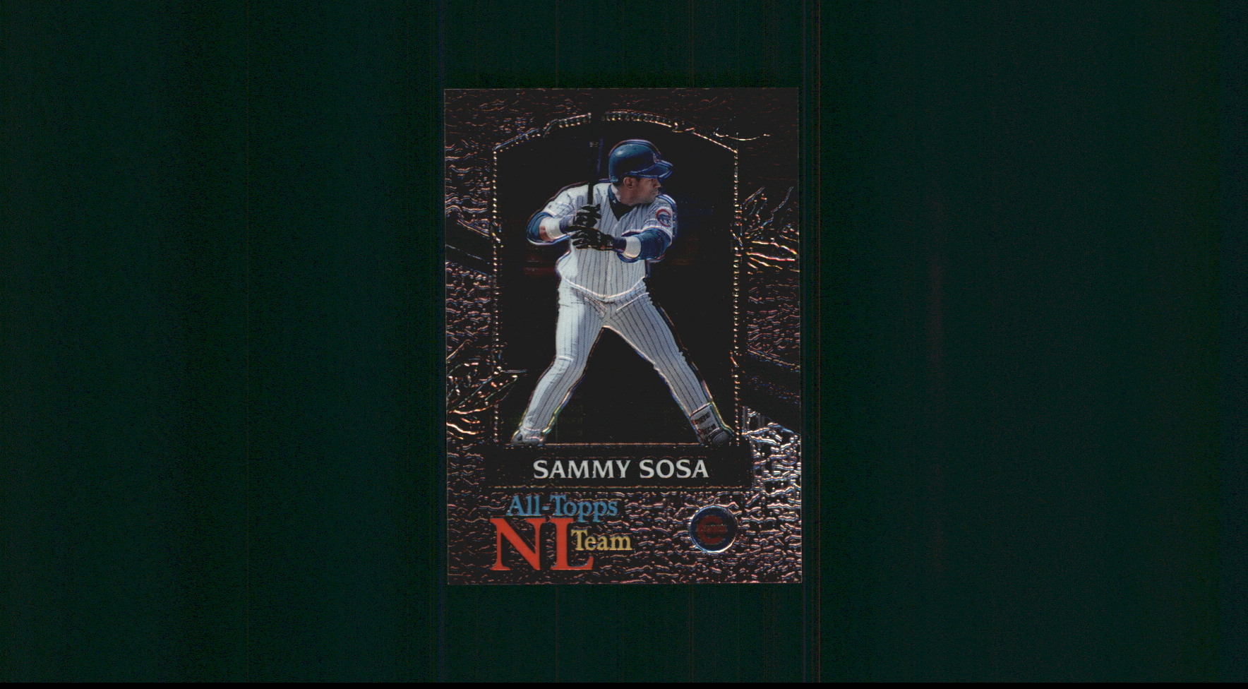 2000 Topps Chrome All-Topps #AT9 Sammy Sosa