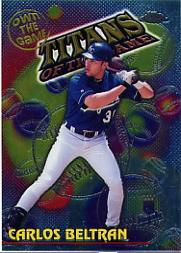 2000 Topps Chrome Own the Game #OTG26 Carlos Beltran
