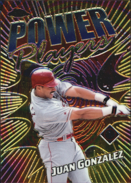 2000 Topps Chrome Power Players #P1 Juan Gonzalez