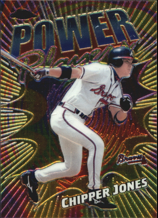 2000 Topps Chrome Power Players #P15 Chipper Jones