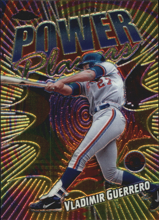2000 Topps Chrome Power Players #P17 Vladimir Guerrero