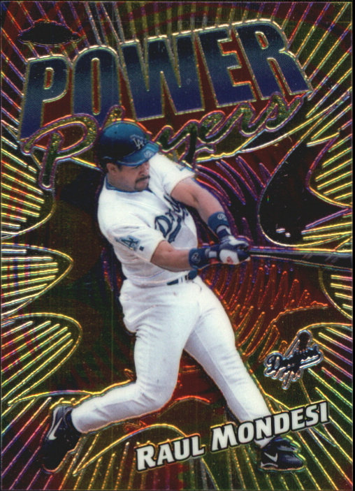 2000 Topps Chrome Power Players #P19 Raul Mondesi