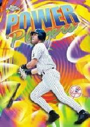 2000 Topps Chrome Power Players Refractors #P20 Derek Jeter