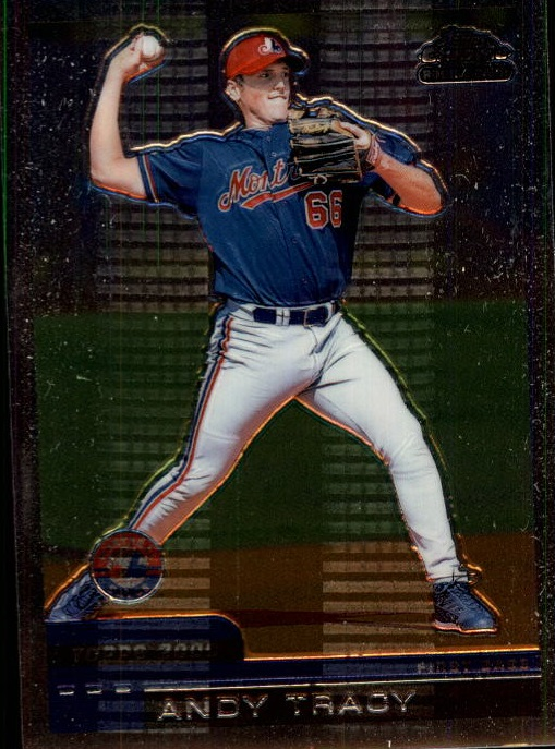 2000 Topps Chrome Traded #T2 Andy Tracy RC