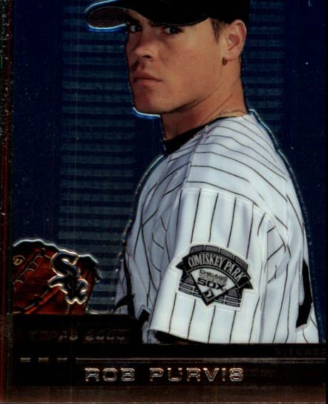 2000 Topps Chrome Traded #T8 Rob Purvis