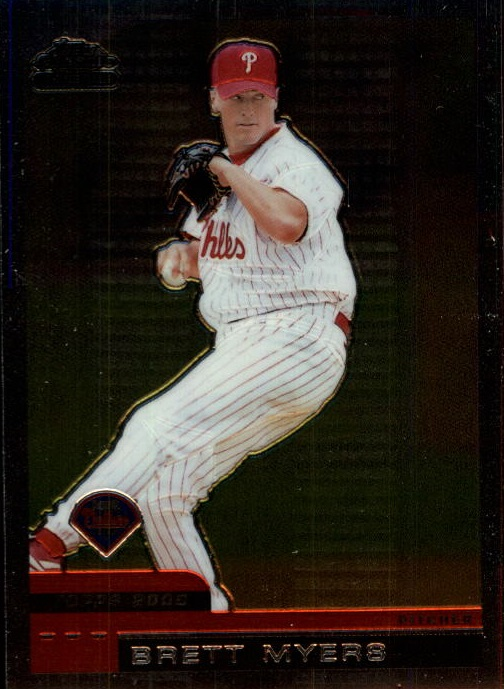 2000 Topps Chrome Traded #T25 Brett Myers
