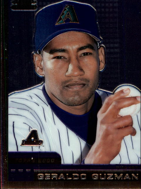 2000 Topps Chrome Traded #T31 Geraldo Guzman RC