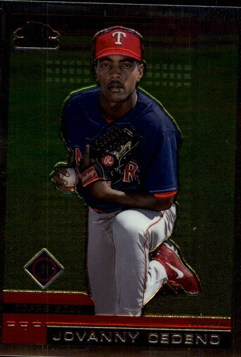 2000 Topps Chrome Traded #T43 Jovanny Cedeno RC