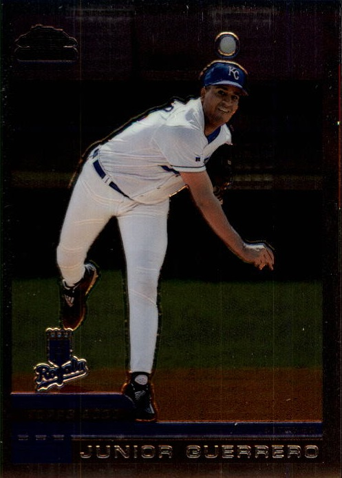 2000 Topps Chrome Traded #T62 Junior Guerrero RC