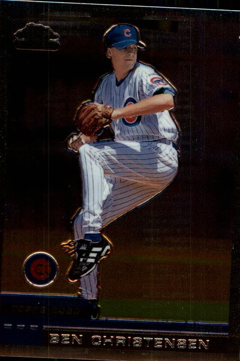 2000 Topps Chrome Traded #T79 Ben Christensen