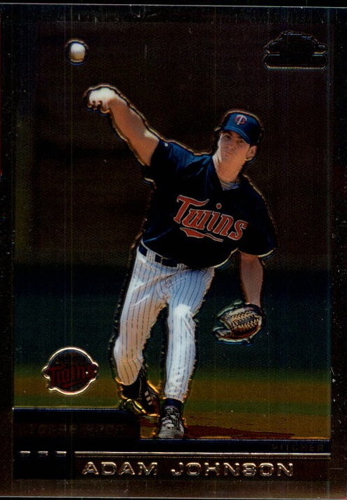 2000 Topps Chrome Traded #T83 Adam Johnson RC