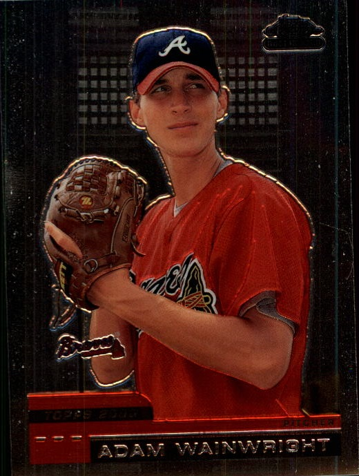 2000 Topps Chrome Traded #T88 Adam Wainwright RC
