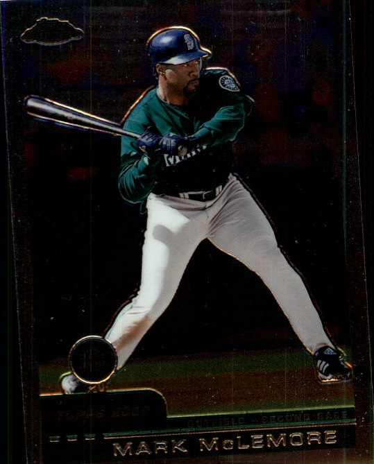 2000 Topps Chrome Traded #T95 Mark McLemore