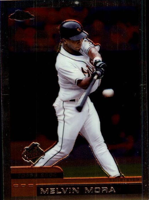 2000 Topps Chrome Traded #T98 Melvin Mora