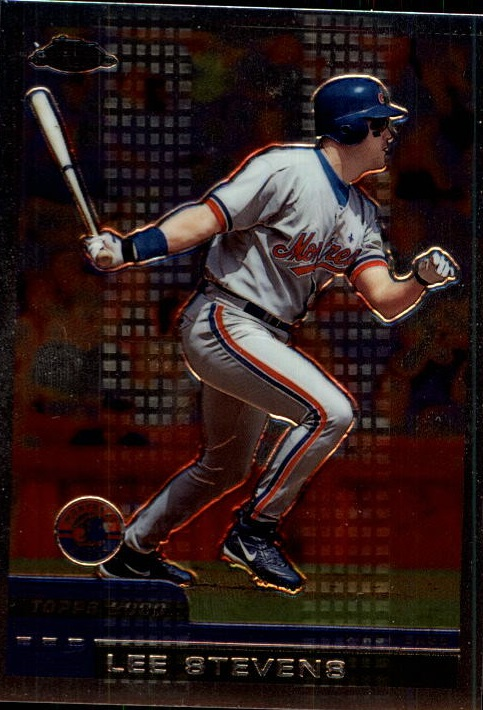 2000 Topps Chrome Traded #T100 Lee Stevens