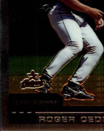 2000 Topps Chrome Traded #T101 Roger Cedeno