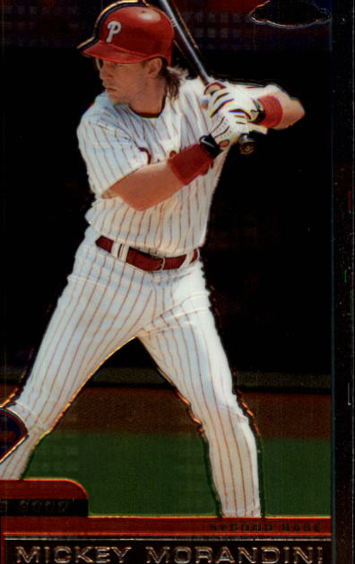 2000 Topps Chrome Traded #T104 Mickey Morandini