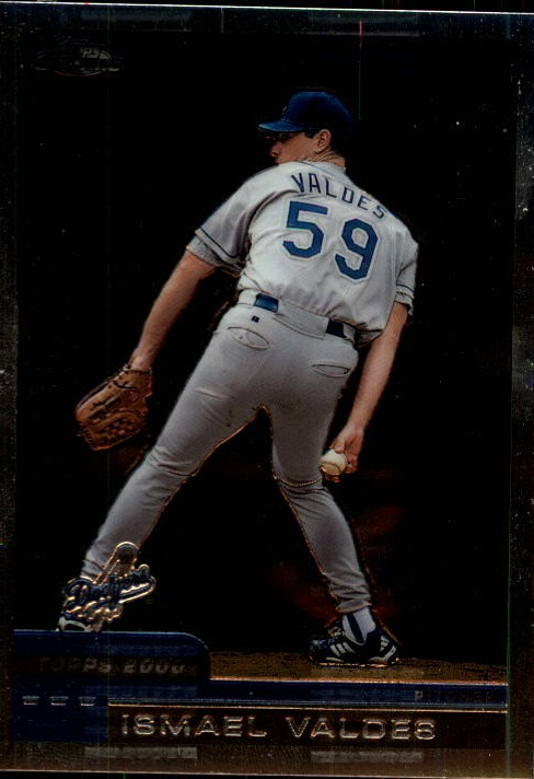 2000 Topps Chrome Traded #T109 Ismael Valdes