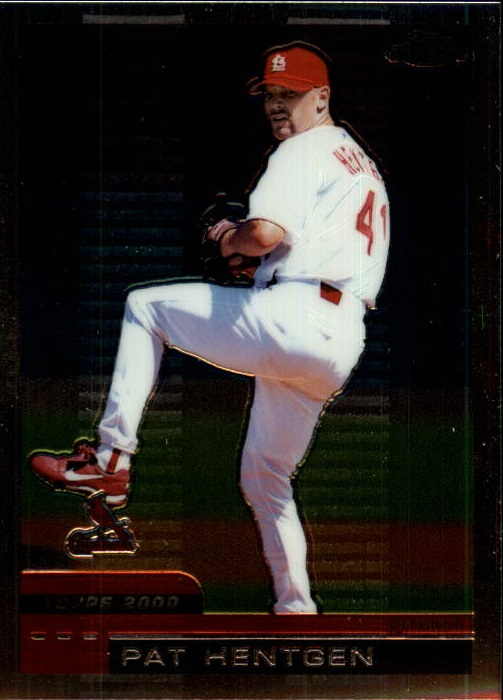 2000 Topps Chrome Traded #T111 Pat Hentgen