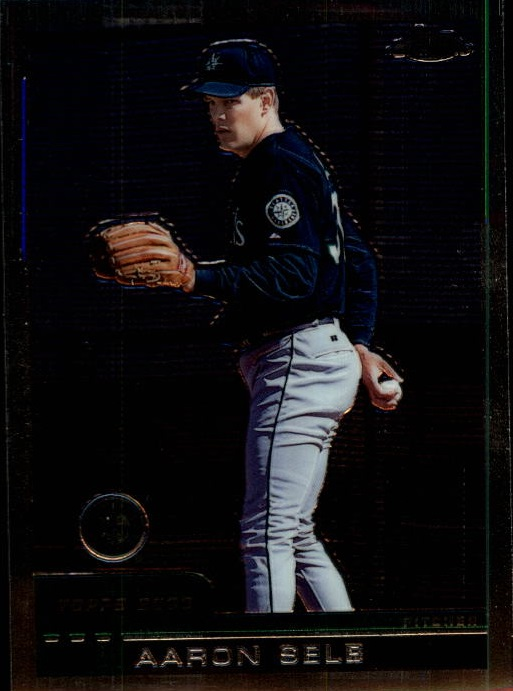 2000 Topps Chrome Traded #T115 Aaron Sele