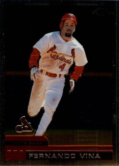 2000 Topps Chrome Traded #T116 Fernando Vina