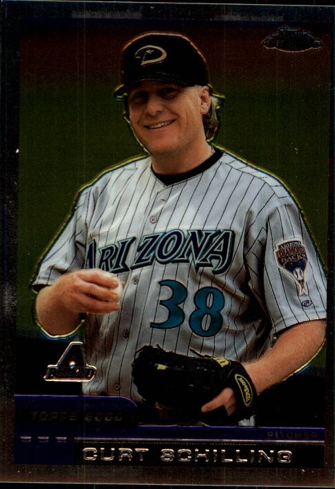 2000 Topps Chrome Traded #T123 Curt Schilling