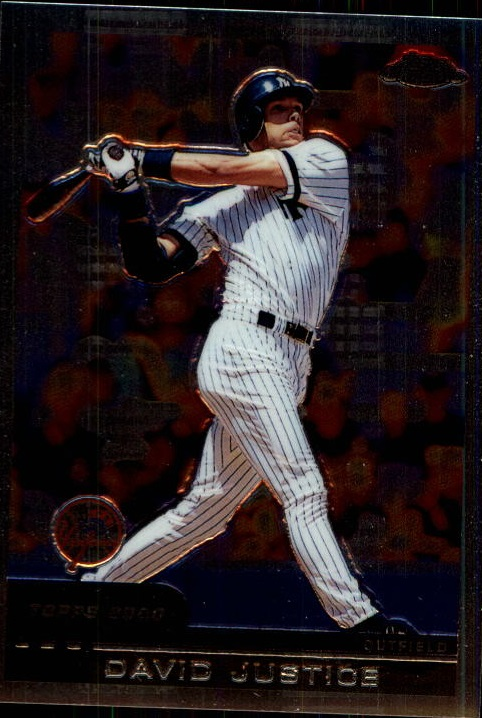 2000 Topps Chrome Traded #T127 David Justice