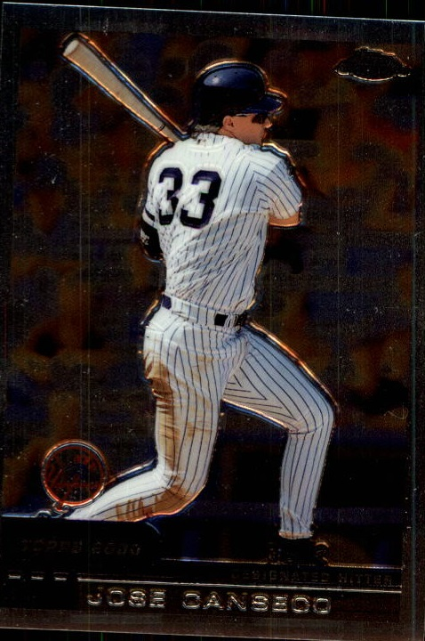 2000 Topps Chrome Traded #T133 Jose Canseco