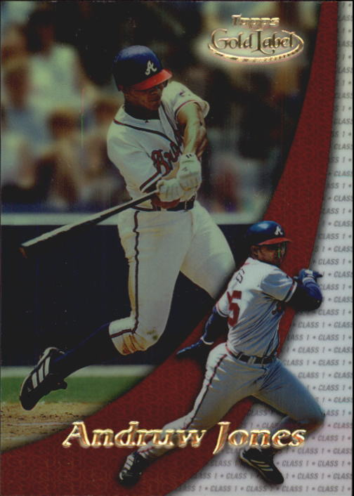 2000 Topps Gold Label Class 1 #38 Andruw Jones
