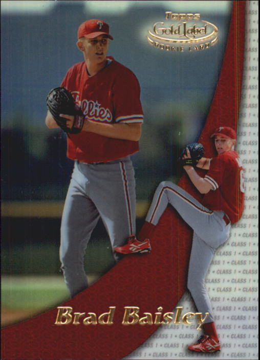 2000 Topps Gold Label Class 1 #96 Brad Baisley RC