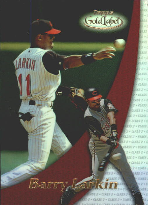 2000 Topps Gold Label Class 2 #33 Barry Larkin