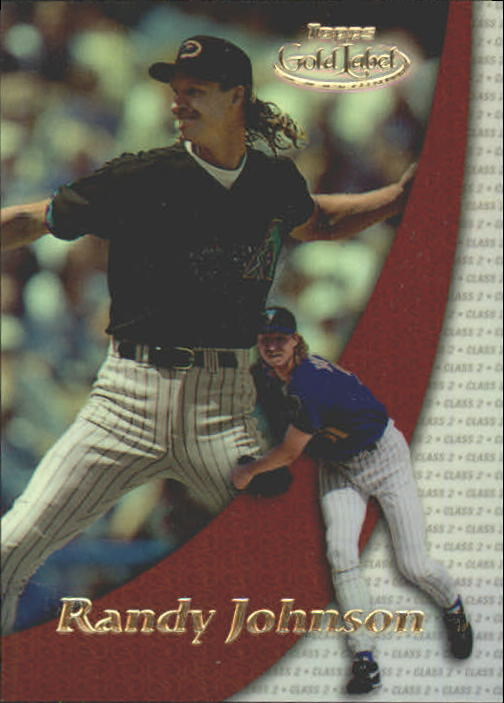 2000 Topps Gold Label Class 2 #59 Randy Johnson
